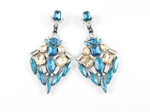Stylish and Modern Design With Turquoise Color Fashion Earrings
