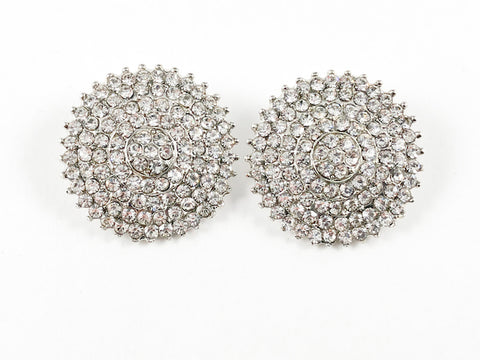 Classic Elegant Round Studs Fashion Earrings