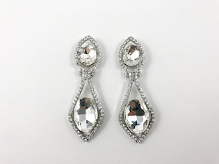 Classic Long Drop Design Earrings