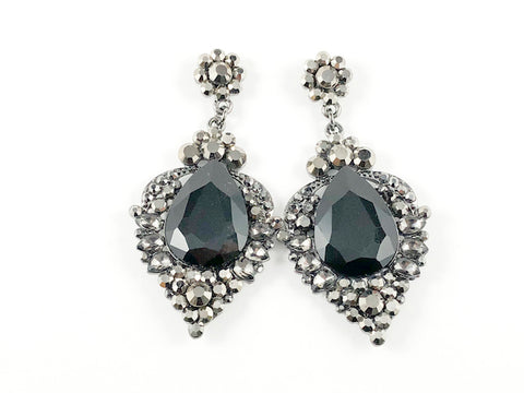 Fancy Antique Gothic Design Dangle Fashion Earrings