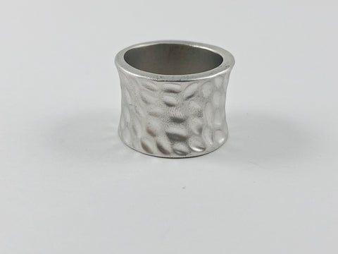 Modern Pottery Eternity Brass Ring