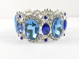 Blue Flashy & Chic Fashion Bracelet