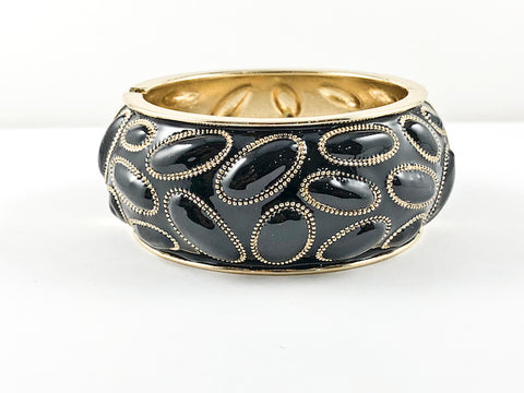 Fancy Unique Modern Design Thick Fashion Bangle