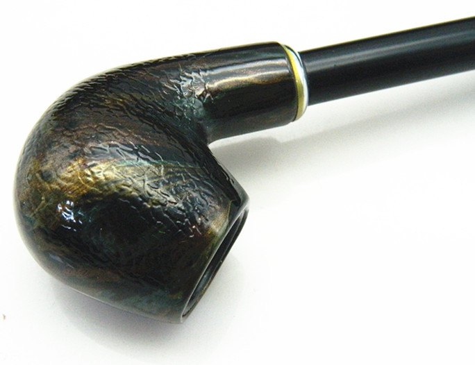 Smooth Snakeskin Smoking Pipe