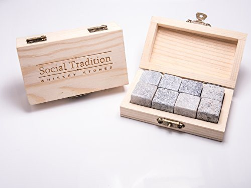 Social Whiskey Stone Set