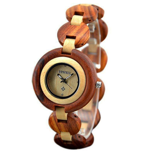 Charmed Natural Grain Wristwatch