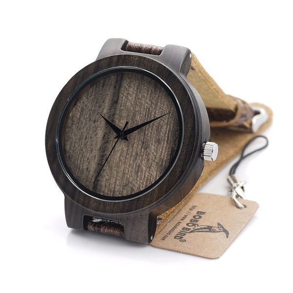 Blackbird Bamboo Wristwatch