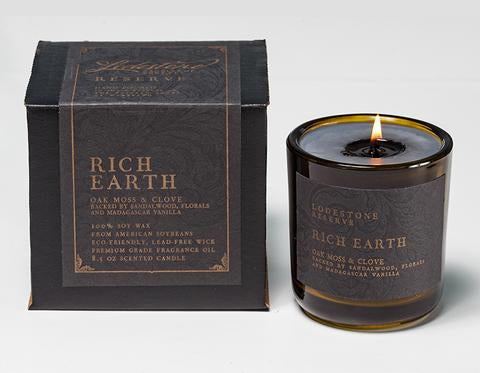 Lodestone Reserve - Rich Earth Candle