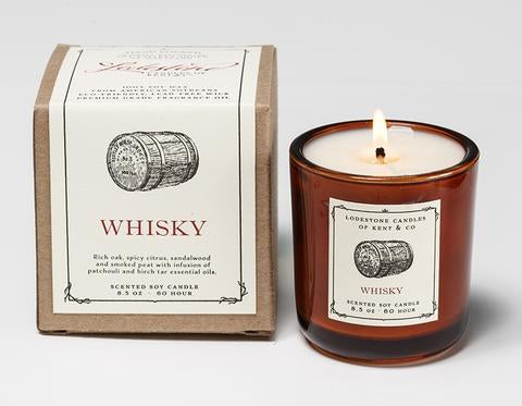 Lodestone - Whisky Candle