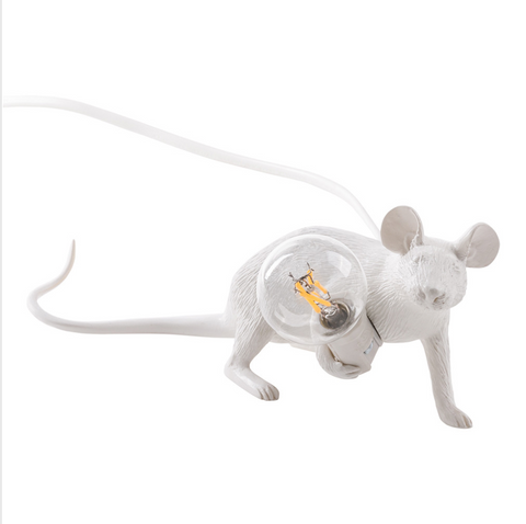 Lie Down Mouse Lamp