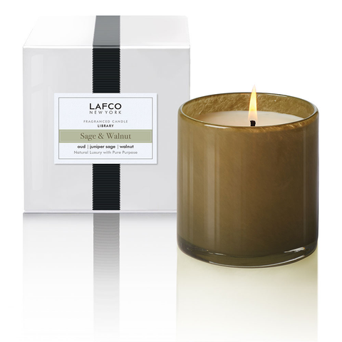 Lafco Sage & Walnut 15.5oz Candle