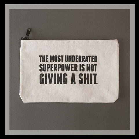 Super Power Zipper Pouch