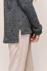 Split Hem Sweater