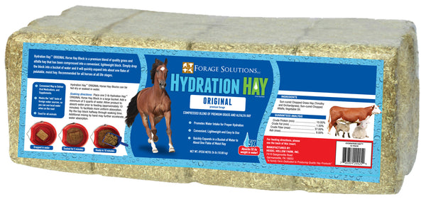 Hydration Hay - 12 block bale