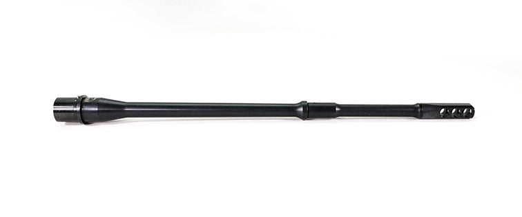 "Faxon Firearms 16"" Legal SLIM Perm 3 Port Brake 14.5"" PENCIL 5.56 NATO Mid-Length 4150 QPQ Nitride Barrel"