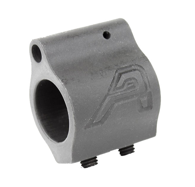 Aero Precision .625 Low Profile Gas Block w/Aero Logo - Phosphate