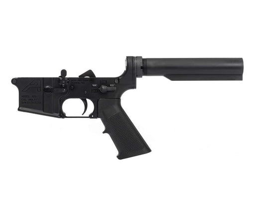 Aero Precision AR-15 Carbine Complete Lower Receiver w/ A2 Grip, No Stock - Black