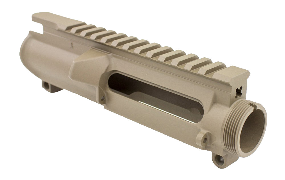 Aero Precision AR-15 Stripped Upper Receiver, No Forward Assist - FDE Cerakote