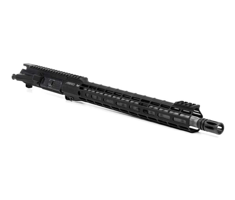 "Aero Precision M4E1-T Complete Upper, 16"" .223 Wylde Fluted SS Barrel, 15"" M-LOK ATLAS S-ONE HG - Anodized"