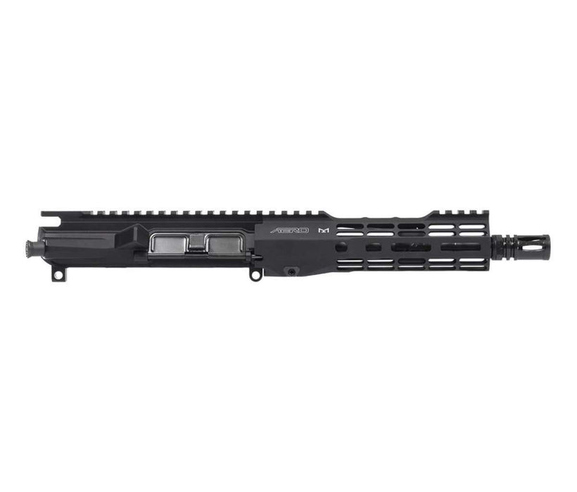 "Aero Precision M4E1-T Complete Upper, 8"" .300 Blackout Barrel, 7"" M-LOK ATLAS S-ONE HG, Anodized Black"