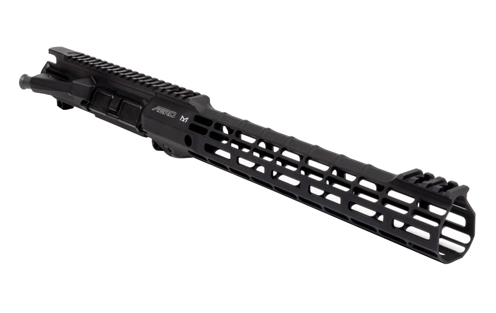 Aero Precision M4E1 Threaded Assembled Upper Receiver and ATLAS S-ONE M-LOK HG Combo - Anodized