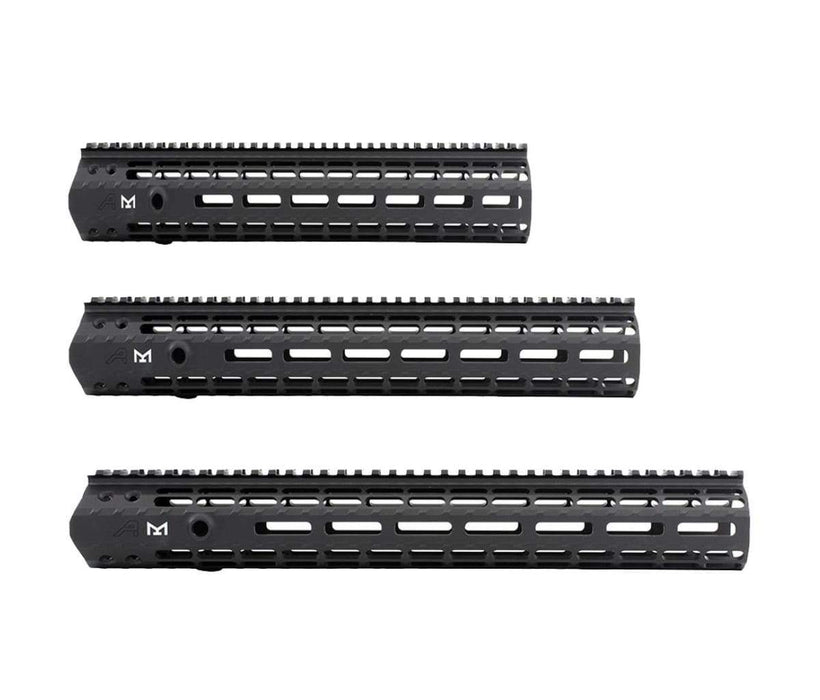 Aero Precision M5 (.308) Enhanced M-LOK Handguard, Gen 2 w/ BAR Barrel Nut - Anodized Black