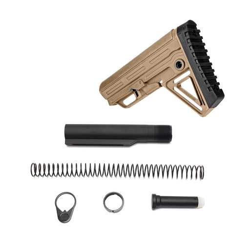 Trinity Force Alpha Mil Spec Stock & Buffer Kit - Sand