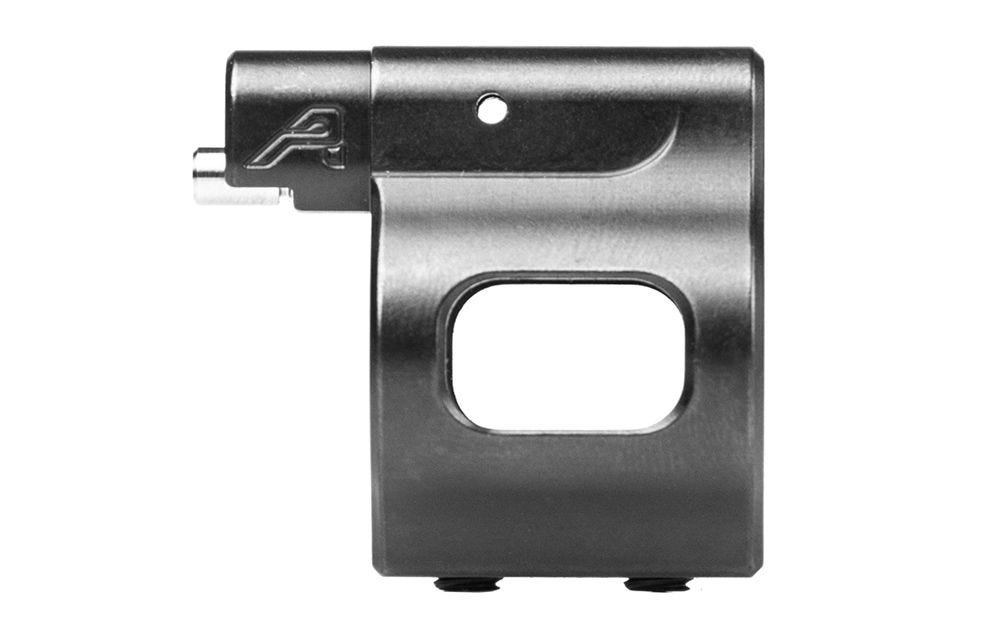 Aero Precision Low Profile .750 Adjustable Gas Block - Nitride