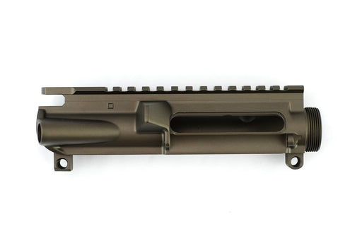 AR-15 Stripped Upper Receiver - Midnight Bronze Cerakote