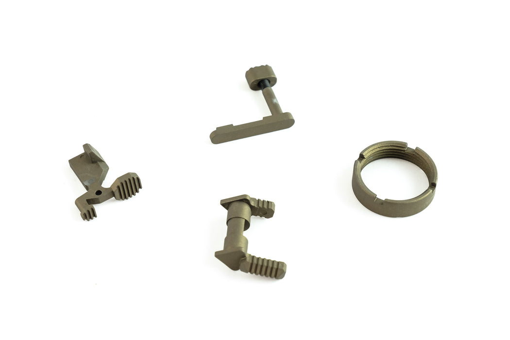 Dirty Bird AR-15 Lower Accent Parts Kit - Burnt Bronze