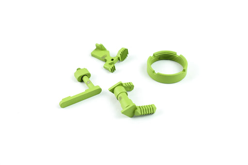 Dirty Bird AR-15 Lower Accent Parts Kit - Zombie Green