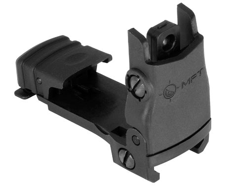 MFT Flip Up Rear Sight - Black