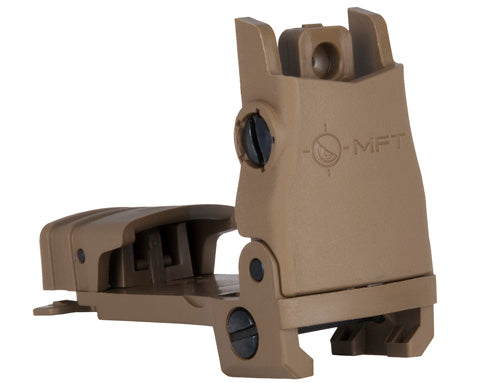 MFT Flip Up Rear Sight - SDE