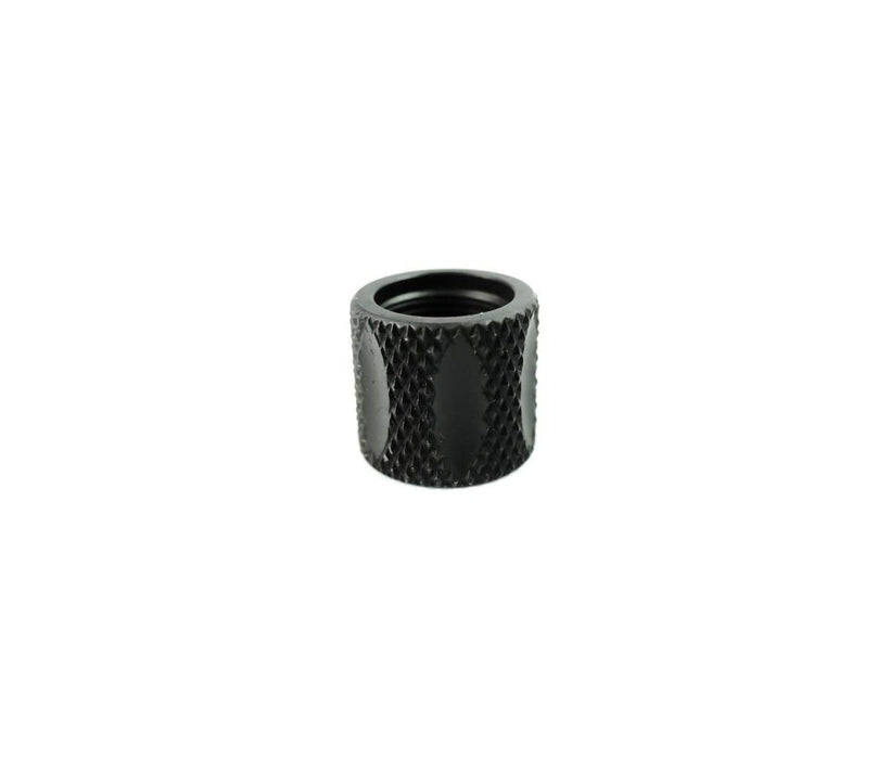 Dirty Bird 1/2x28 Black Knurled/Fluted 5/8 long Thread Protector .223/5.56 - Black
