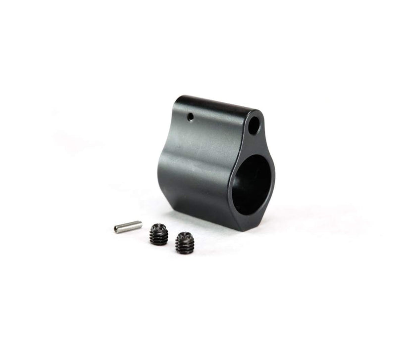 Dirty Bird .625 Low Profile Steel Gas Block - Black Nitride
