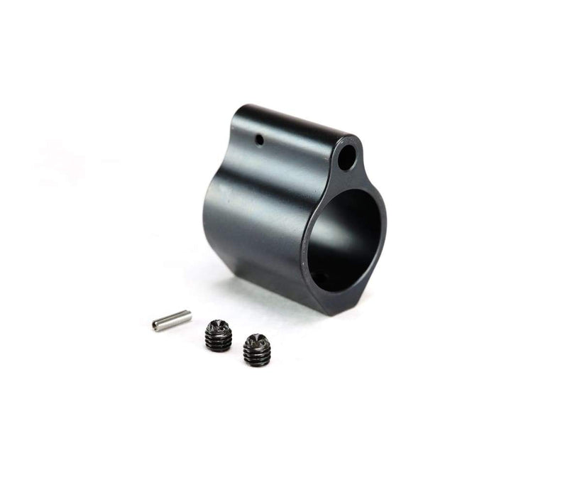 Dirty Bird .750 Low Profile Steel Gas Block - Black Nitride