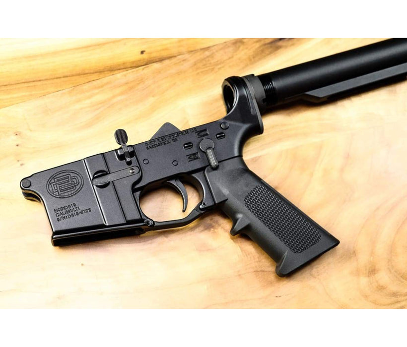 Dirty Bird AR-15 MCF Complete Lower Receiver - Black