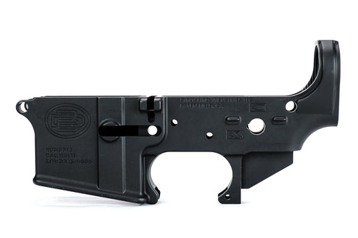 Dirty Bird AR-15 Multi-Cal Forged Lower Receiver - Anodized Black