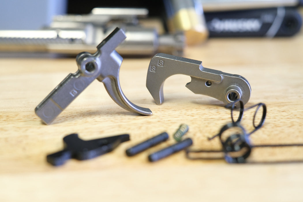 Dirty Bird Industries Single Stage Nickel Teflon Trigger Group