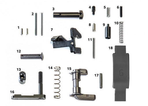 Geissele Super Duty Lower Parts Kit
