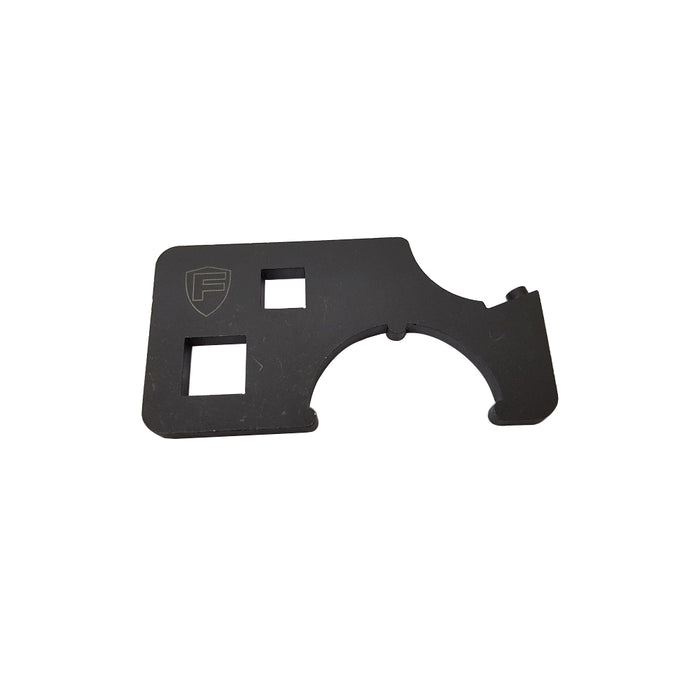 Fortis AR-15 and AR-10 Switch & Night Rail Barrel Nut Wrench / Spanner Wrench