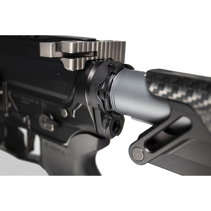 Fortis LE Lightweight Enhanced AR-15 End PLate System - K2 - Castle Nut (Clip)