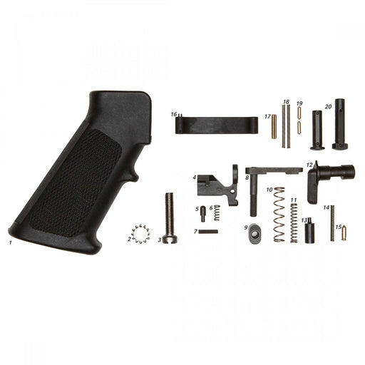 Geissele Mil-Spec Lower Parts Kit (Less Trigger, With Grip)
