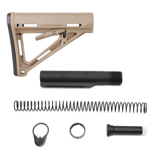 Magpul MOE Mil-Spec Stock & Buffer Kit - FDE