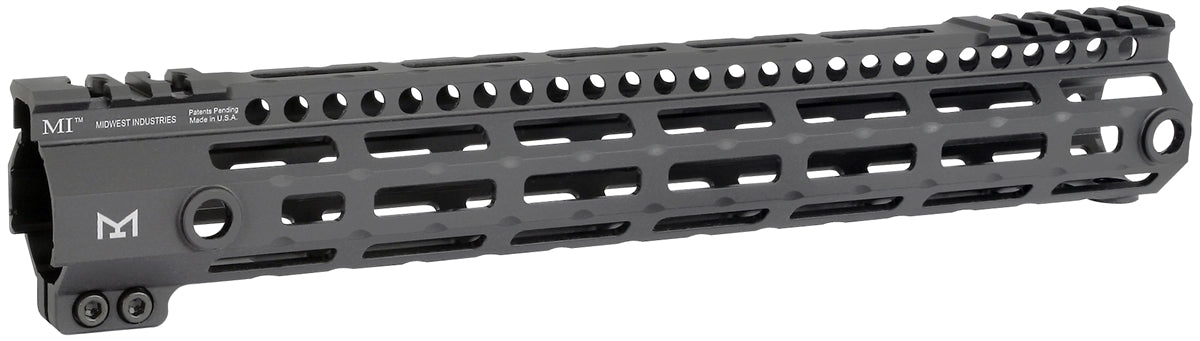 "Midwest Industries 12"" G3 Lightweight Free Float M-LOK Handguard - Black"