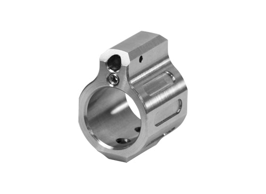 ODIN Works Tunable Low Profile Gas Block - Stainless Steel