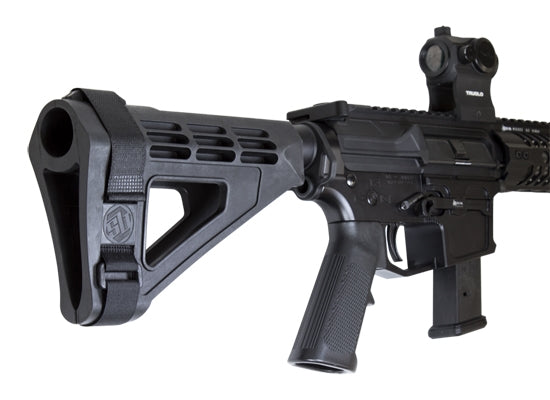 SB Tactical SBM4 with Stabilizing Brace Pistol Tube