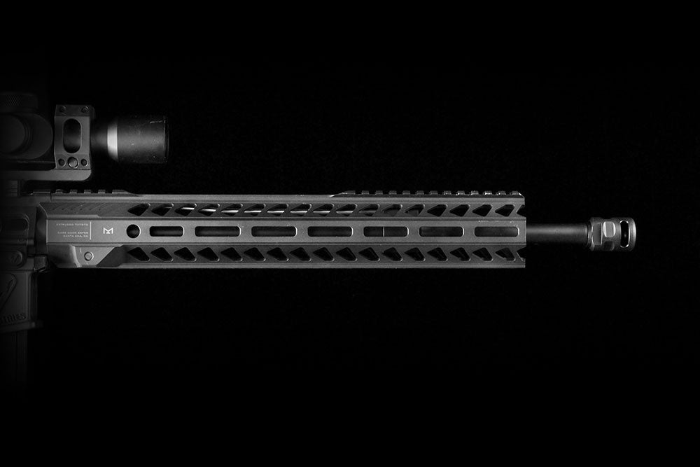 Strike Industries WarHog Comp for 5.56.  QPQ Finish