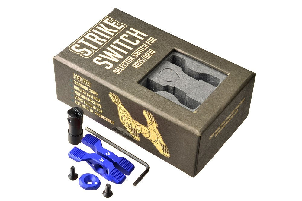 Strike Industries Strike Switch Safety Selector (Black, Blue, Red, Grey)