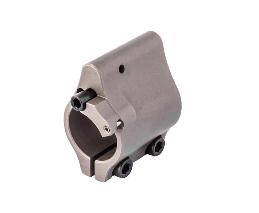 Superlative Arms .625 Adjustable Gas Block - Clamp On - Stainless Steel